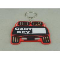 China Stamping / Die Casting Rubber Key Chain , Design Your Own Custom Shaped Keychains on sale