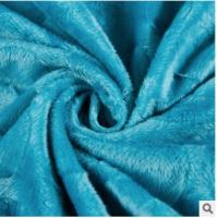 Super soft velvet knitting Caulking fabric, DECORATED tricot fabric