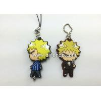 Buy cheap Phone accessories pendant custom phone decoration pendants supply with cartoon figures anime figure shape product