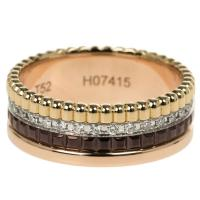 Buy cheap 18K Gold Boucheron Jewelry Quatre Classic Small Ring With Diamonds Size 52 product