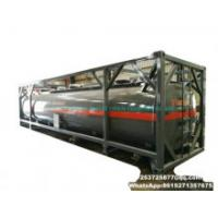 40FT ISO Tank Containers for Hydrochloric Acid, Sodium Hypochlorite PE Lined Tank Used to Contain HCl (max 35%) , Naoh (50%) , Naclo (15%) , H2so4. Hf, H2O2