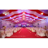 500 People Luxury Wedding Tents with Roof Lining and Curtains for Weddings and Parties