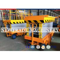 Buy cheap High duty Steel Structure Mobile Hydraulic Scissor Platform Lift With Local from wholesalers