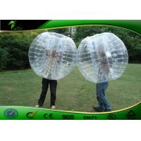 Buy cheap Funny Heat Sealed Inflatable Human Bumper Bubble Ball For Water Park product
