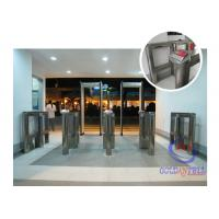 Buy cheap Luxury Shape Speed Gate Security Half Height Turnstiles For Fitness from wholesalers