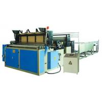 Buy cheap Full Automatic Toilet Paper Roll Making Machine product