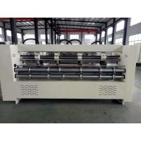 Buy cheap High Speed Thin Blade Slitter Scorer Machine Electric Adjusted Lifting Type product