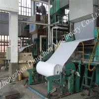 Buy cheap 2400mm high speed toilet paper roll machine product