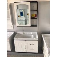 Buy cheap modern wall PVC Bathroom Washbasin Cabinet With Painting ISO Standard product