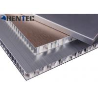 Buy cheap Anodized Construction Aluminum Profile Aluminum Honeycomb Panel With Brushed Finish product