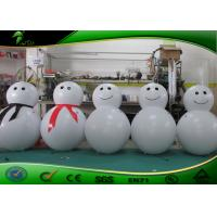 Buy cheap Outdoor Lovely Decoration LED Inflatable Santa Claus / Snow Man For Christmas product
