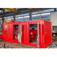 Buy cheap Horizontal Split Case Fire Pump Assembly Skid Mounted Fire Pump Package product