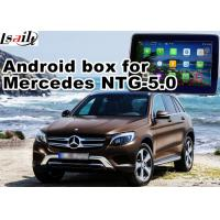 Buy cheap Android GPS navigation box interface for mercedes benz NTG5.0 with rear view WiFi mirror link cast screen product