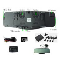 rearview mirror lyrics+Radar detector+bluetooth+gps+speed recorder+backup camera