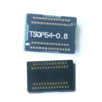 programmer adapter TSOP54 adapter receptacle TSOP54 programmer adapter pin board