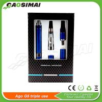 New AGO G5 Triple Use on sale!! Vaporizer for e liquid/wax/dry herb