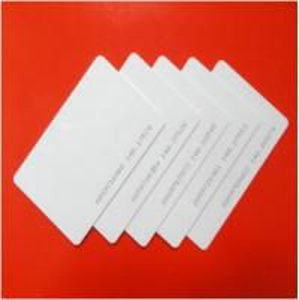 China Lowest price proximity TK4100 125khz PVC RFID blank card on sale