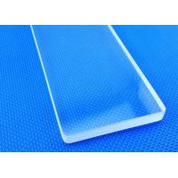 Buy cheap Transparent Light Guide Sheet Borosilicate Pyrex Glass Material Heat Resistant from wholesalers