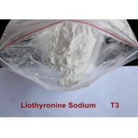 China Pharmaceutical Raw Materials Hot Weight Loss Drug 99.9% Liothyronine Sodium / T3 Steroid Powder on sale