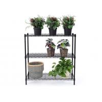Buy cheap Space Saving Metal Kitchen Shelves Cold - Rolled Steel Material Height Adjustable product