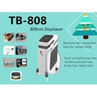 Buy cheap Vertical 808nm Diode Semiconductor Laser Hair Removal Machine Non - Invasive from wholesalers