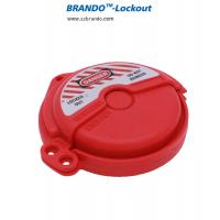 Buy cheap Red adjustable Ball Valve Lockout high safety Ball Valve Lockout Device product