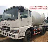 Buy cheap MITSUBISHI Fuso Used Concrete Mixer Trucks 8m3 Mixing Capacity Diesel Fuel product