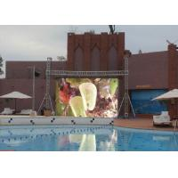Buy cheap Big P4.8 Outdoor Rental LED Display Panel , IP65 IP54 LED Screen Video from wholesalers
