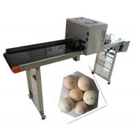 Buy cheap Whole Plate Egg Inkjet Marking Machine With Thermal Foam Type Multiple Nozzle product