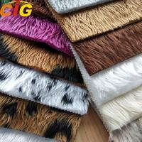 Buy cheap OEM Faux Fur Fabric Long Pile Faux Fur Fabric Weight 350-700gm product