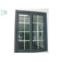 Buy cheap Grille Design Aluminium Sliding Windows Corner Joint System / Medium Level Window System product