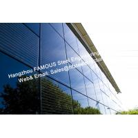 Buy cheap Integrated Photovoltaic Fatades Solar Modules Glass Curtain Wall with Single Crystal Component product