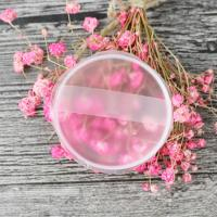 Buy cheap Portable Beauty Transparent Jelly Makeup Powder Puffs / Cosmetic Silicone Powder Puff from wholesalers