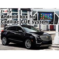 China GPS Android navigation box video interface for Cadillac XT5 video on sale