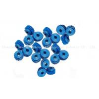 Colorful Small Straight Tooth Gears , POM Plastic Pinion Gears Injection Molding Type