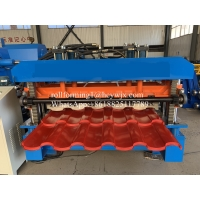 Buy cheap Hydraulic 2m/Min Glazed Tile Roll Forming Machine product