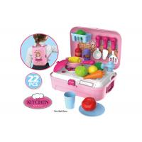 Buy cheap Portable Backpack Kitchen Role Play Toys , Pretend Play Children's Cooking Set product
