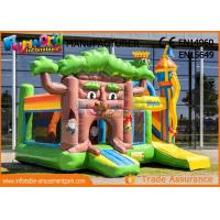 Buy cheap Multiplay Fairytale Inflatable Bouncer Slide For Kids / Blow Up Bouncy Castle from wholesalers