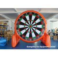 Buy cheap Customized Size Inflatable Sport Games , Airtight Giant Inflatable Foot Darts from wholesalers