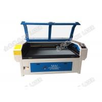 Buy cheap High Speed Laser Cutting Machine Double Head Laser Cutter For Garment Labels product