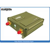 Buy cheap 40km Ethernet COFDM UAV Video Transmitter Support Mavlink Drone Video Radio Link with TTL from wholesalers