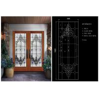 Buy cheap Bright / Round Tempered Beveled Edge Glass Theft Proof For Home School product