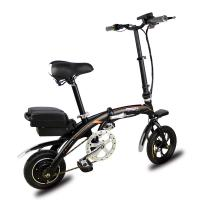 Buy cheap Removable Lithium Battery Fold Up Electric Bike , Folding Electric Bicycle 12'' from wholesalers