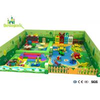 Buy cheap Handmade Puzzle Park Kids Indoor Playground Customized Size / Toddler Play Center product