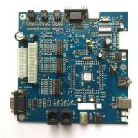 Buy cheap Blue Solder Mask OEM Turnkey PCB Assembly with Blue solder mask PCBA from wholesalers