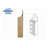 Buy cheap FSDU Shelving Red Wine Wood/MDF Permanent Merchandising Display Stand Heavyduty Holding Capacity product