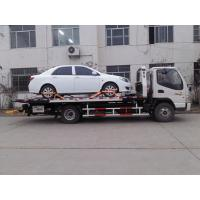 Buy cheap Flatbed Wrecker Tow Truck product