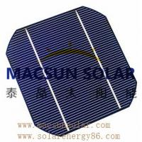 China Mono 6' (156*156) black or blue Mono Crystalline Silicon Solar Cell on sale