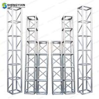 Buy cheap Events Used Square Aluminum 6061-T6 290mm/390mm Spigot Truss for outdoor event or exhibiton product