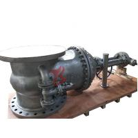 Buy cheap DN800 Cast Steel Gate Valve WCB PN25 13CR Trim 32 Inch Rising Stem With Bypass Valve Z540 product
